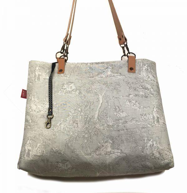 Tote bag reversible para mujer