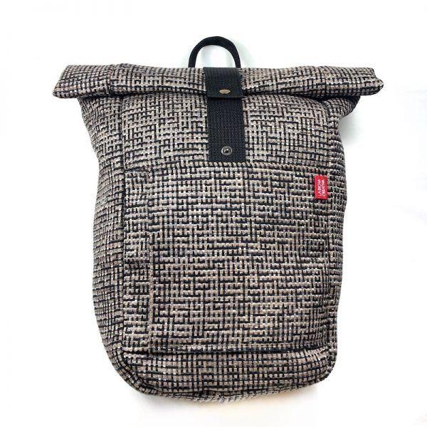 mochila enrollable eco sostenible