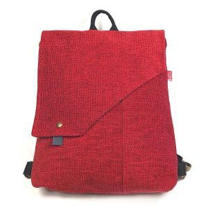 Mochila bolso moda sostenible hecha a mano
