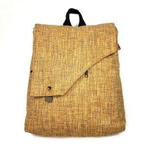 mochila bolso artesano sostenible hecho a mano La Bicha Creativa - Maiz