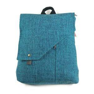 mochila de moda sostenible hecha a mano de manera local la bicha creativa