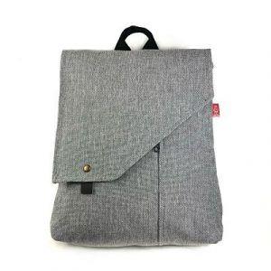 mochila de mujer transformable en bolso hecha a mano la bicha creativa