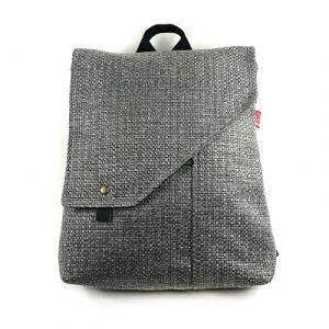 mochila eco sostenible handmade con filosofía de comercio circular la bicha creativa