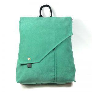 mochila en tejido sostenible Mentol