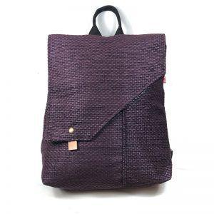 mochila femenina eco sostenible violeta - Lula