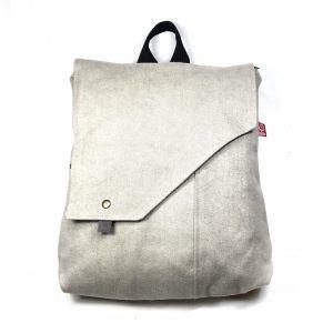 mochila hecha de tela - Orchata