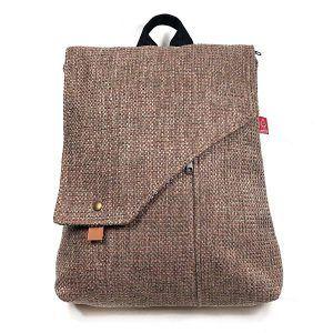 mochila transformable en bolso hecha a mano Nordik Sueños