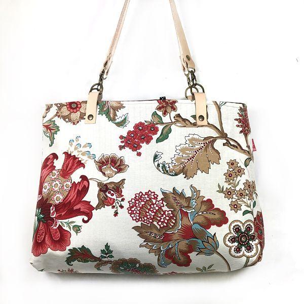Bolso de mujer handmade estampado