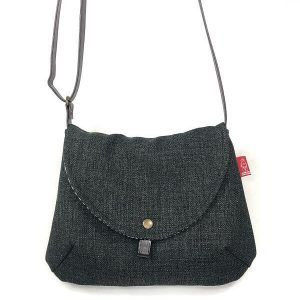 bolso hecho a mano con tela reciclada la bicha creativa- Bianca II