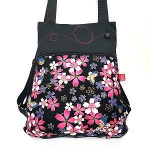 mochila bonita de tela - Lula - la Bicha Creativa