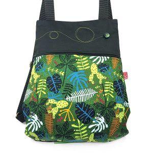 mochila de tela alegre - Leo - La Bicha Creativa