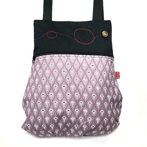 mochila de tela algodón - Leona - La Bicha Creativa