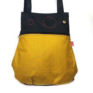 mochila de tela artesanal - Sonia - La Bicha Creativa