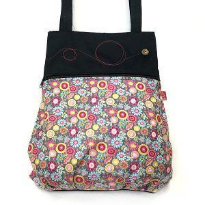 mochila de tela bonita - Flopy - La Bicha Creativa